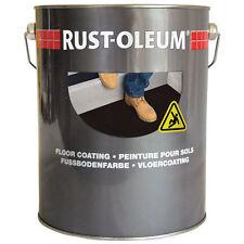 Rustoleum 7144 Traffic Yellow Anti Slip Floor Coating Paint 5L With Vat Receipt