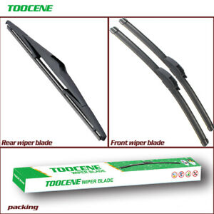 Front and rear Windshield Wiper blade for Hyundai I35 2011-2015 flat wiper blade