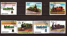 PARAGUAY Locomotives anglaises anciennes à vapeur serie:scott N°2124 G131