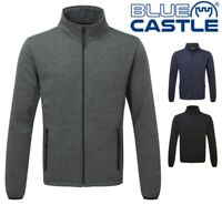 BLUE CASTLE Mens Sweatshirt Top JACKET Fleece Jumper - Sizes XL, 2XL, 3XL