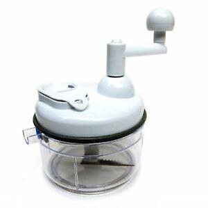 Hand Crank Kitchen Super Homemade Salsa Maker Machine Hand Mixer Food Chopper