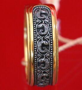 Jesus Christ Prayer Saint Fish Image Russian Orthodox Prayer Ring Silver 925