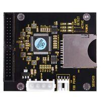 SD SDHC SDXC MMC-Karte auf IDE 40Pin 3,5-Zoll-Adapter F1B2