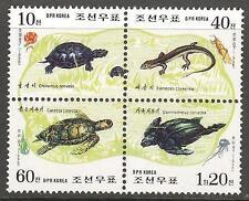 Korea 1998 Reptiles Turtles set of 4 MNH**
