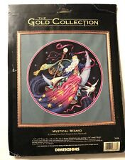 Dimensions Gold Collection Mystical Wizard 3838 Counted Cross Stitch Kit NEW