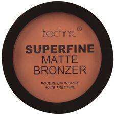 3x Stück Technic Superfine matte Powder bronzer Compact Puder matt 12g