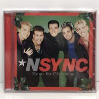 NSYNC Home for Christmas CD Holiday Music Factory Sealed Justin Timberlake