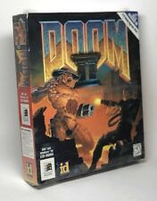 Doom II Big Box PC DOS WIN 95 ID Software *SEALED* Computer Game