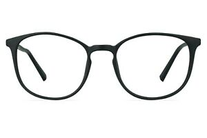 Carousel Xena Round Plastic Glasses with Keyhole Bridge Design 48-17-138