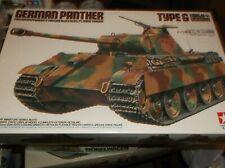 TAMIYA German Panther Frune Version Type G 1/35 MISB