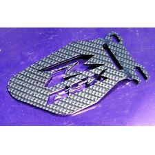 Suzuki GSXR Logo Heel Guards / Plates GSX-R 600 750 1000 Carbon-Effect
