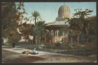 Egypt. Cairo. The Fountain Mosque Moerirt - Vintage LL Colour Printed Postcard