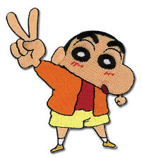 "SHIN CHAN PEACE OUT Patch 3"" x 3"" Licensed by GE Animation Anime Patch 4204"