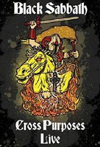 BLACK SABBATH CROSS PURPOSES LIVE DVD NEW SEALED OZZY OSBOURNE NTSC ALL REGION
