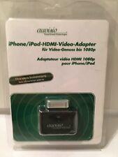 Auvisio adaptateur HDMI 1080p 30 borches pour iPhone / iPad