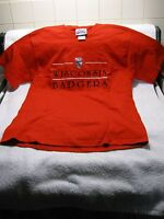 UNIVERSITY OF WISCONSIN BADGERS Embroidered T-Shirt-College Sports-Football!!!