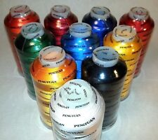 7 Rayon Machine Embroidery Thread XL Cones 5000M / 5500Yds You Pick the Colors