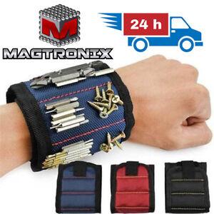 Magnetic Wristband Toolkit Holder | Screws Scissors Storage | Wrist Belt Tool UK