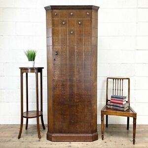 Early 20th Century Antique Oak Hall Cupboard (M-2659) - FREE DELIVERY*