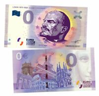 Russia 0 Rubles 2021 Vladimir Lenin. Great politicians of USSR UNC