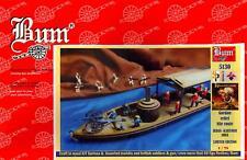 BUM Models 1/72 GORDON'S RELIEF NILE ROUTE TO KHARTOUM Wood Boat & Figure Set