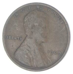XF+ 1909 Lincoln Wheat Cent - 1st Year Issue - Great Condition *012