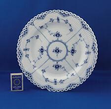 Royal Copenhagen Musselmalet Vollpitze gerippt Speiseteller 1084 blue fluted 25