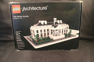 Lego 21006 Architecture White House Complete with Manual and Box