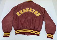 Vintage Washington Redskins Don Alleson Athletic Satin Jacket Size M Made in USA