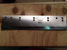 367050602m Muller Martini Paper Trimming Knife Megalife Carbide Front