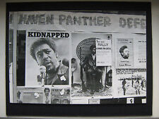 YALE UNIVERSITY STRIKE Bobby Seale BLACK PANTHER PARTY POSTER New Haven TRIAL !!