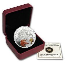 2013 1 oz Silver Canadian $20 Coin - Maple Canopy Series - Autumn - SKU #78034