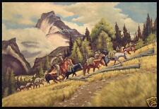 "* 36""x24"" Oil Painting on Canvas, Wild West Scene"