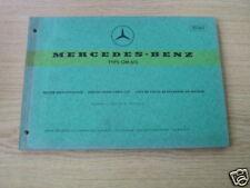 Teilekatalog Mercedes Motor OM 615, Stand 1969