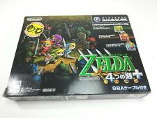 Zelda 4 Swords with GBA Cable Game Cube Japan GC Nintendo