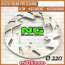 DISCO FRENO POSTERIORE NG BRAKE DISC HUSABERG HUSQVARNA KTM MOTO CROSS OFF ROAD