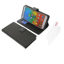 CUSTODIA + PELLICOLA per Lenovo A816 book-style protettiva cellulare a libro