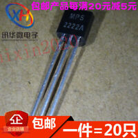 100Pcs In-line Transistor 2N2222 MPS2222A NPN Small Power Transistor Packa#R2020