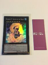 Yugioh Number 87: Queen Of The Night NUMH-EN034 Pack Mint New Card Super Rare