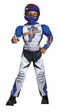 Morris Costumes Boys Motorcycle Rider Muscle Costume. Dg90768l