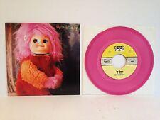 "Dinosaur Jr. The Wagon 7"" NM Clear Pink VINYL SUB POP 45 1990 J Mascis Fleming"