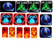 STERN STAR TREK TARGET BODY ARMOUR-NEW MATERIAL DESIGN