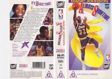 BASKETBALL ~ MAGIC JOHNSON SHOWTIME~ VHS PAL VIDEO