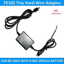 TK102 Minúsculo GPS RASTREADOR ENDURECIDO CON CABLE KIT CARGADOR ADAPTADOR TK102