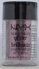 NYX Professional Makeup Glitter Brillants GLI02 Rose  0.08oz Face & Body