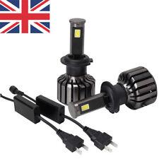 2pcs H7 LED Car Headlight Conversion Bulb Beam Kit Replace Lamp 80W 8000LM