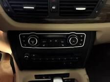 Edelstahl poliert D BMW X1 Chrom Rahmen für Schalterleiste PDC