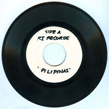 Philippines RAMON JACINTO Pilipinas OPM 45 rpm TEST PRESS Record