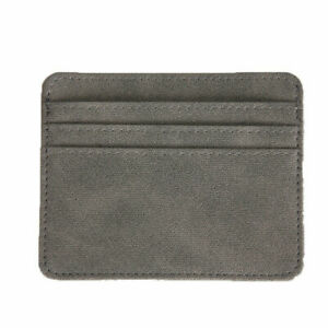 Card Holder Slim Credit Card ID Cards Organizer Coin Pouch Case Bag Wallet