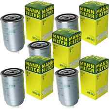 5x MANN-FILTER Kraftstofffilter WK 842 Fuel Filter